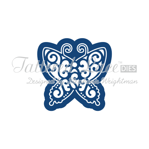Tattered Lace Die Kaleidoscope Butterfly L D523